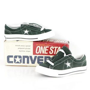 New Vintage 90s Converse One Star Suede Ox Shoes